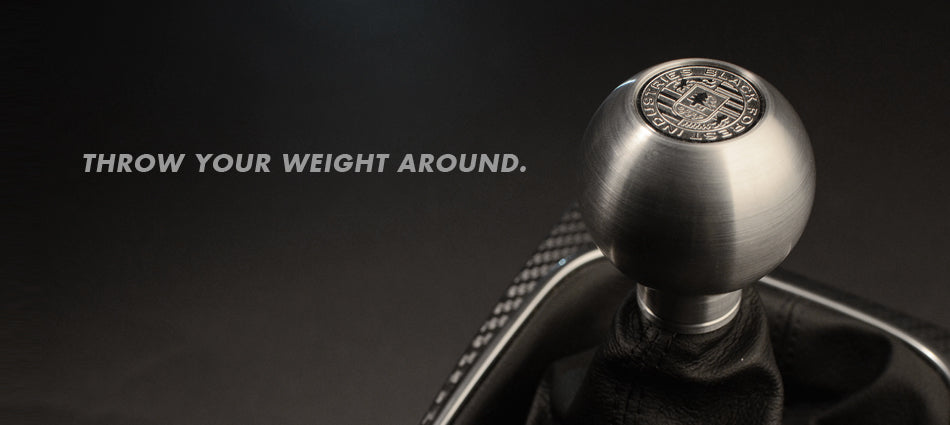 BFI Heavy Weight Shift Knob - Full Billet (BMW Fitment)
