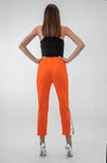 Orange Classic Pants - Boutique by JessyJess