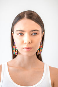 Fasle Crystal Earrings - Boutique by JessyJess