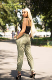 Beautiful Khaki Trouser for women - Boutique by JessyJess