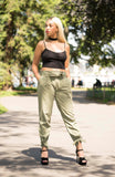 Comfortable Khaki Trouser  - Boutique by JessyJess