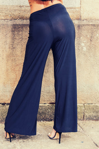 Black Wide Trouser - Boutique by JessyJess