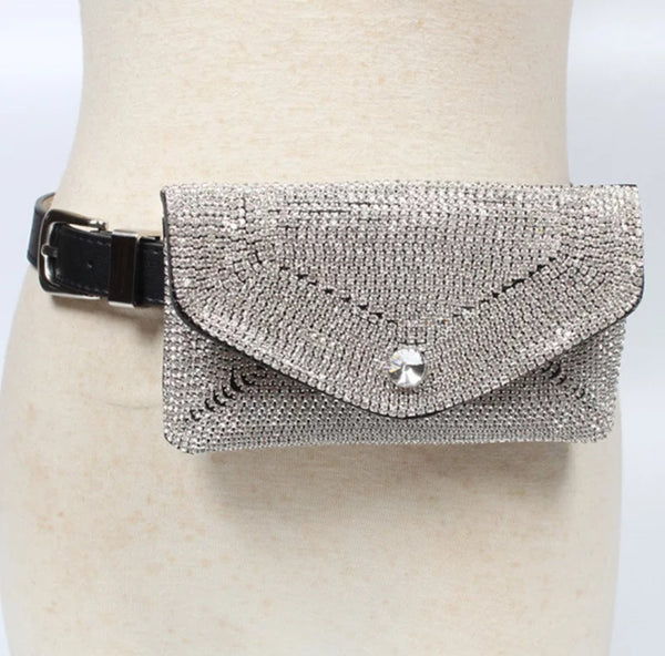 Diamond Belt Bag - Boutique by JessyJess