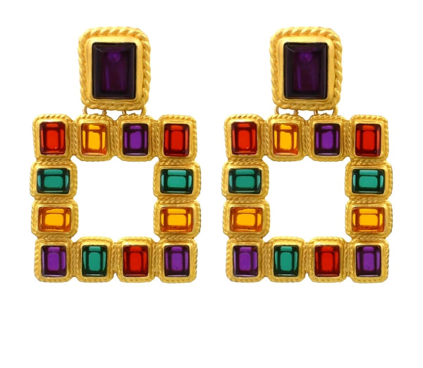 Crystal Earrings - Boutique by JessyJess