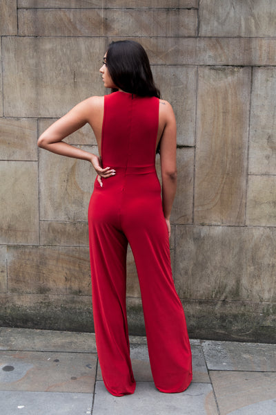 Wide Side Jumpsuit - Boutique by JessyJess