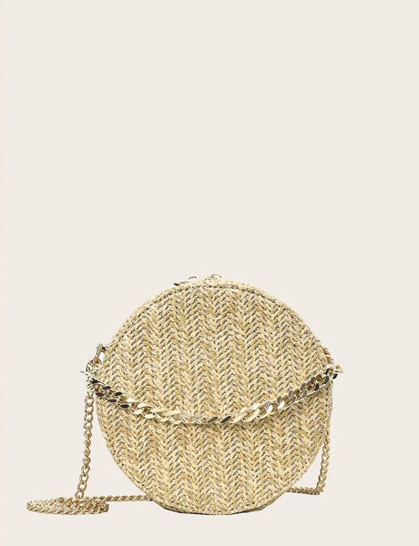 Round Chain Bag - Boutique by JessyJess
