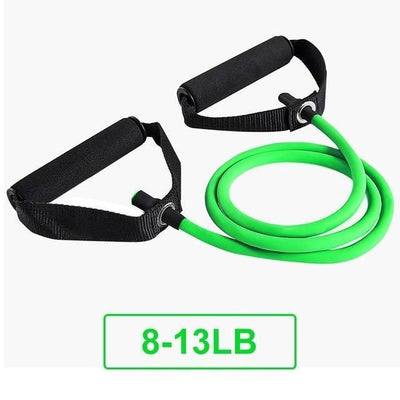 120CM YOGA PULL ROPE ELASTIC RESISTANCE BANDS TUBES PRACTICAL TRAINING RUBBER Resistance Bands SeekNfind Official Store Green