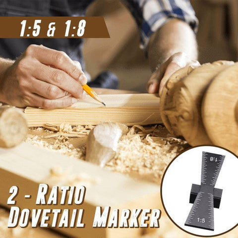 2-Ratio Dovetail Marker Workshop Penguin Delivery