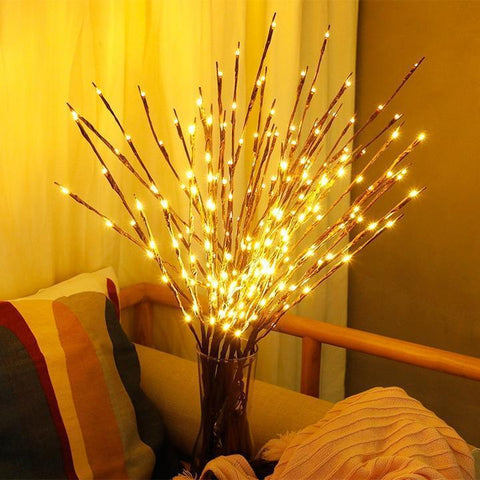 3PCS LED Lighted Branch Lighting Twig Willow Tree Penguin Delivery