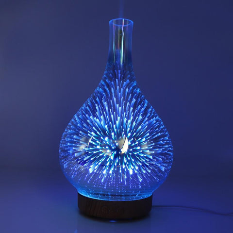 Aroma Diffuser 3D LED Light Oil Firework Air Humidifier 100ml Humidifiers Dream My Dream Store