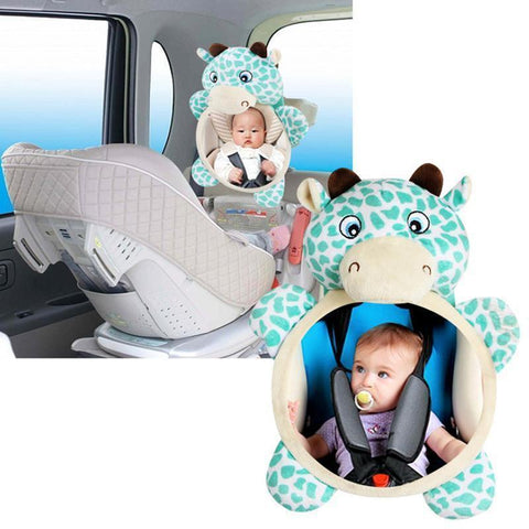 Baby Backseat Mirror Penguin Delivery