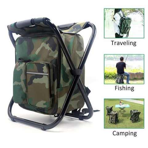 Backpack Cooler Stool Fishing Chairs Sunsing Outdoor Store
