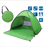 Beach Buff™️ Foldable Tent Tents Fitness Park Store Green