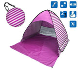 Beach Buff™️ Foldable Tent Tents Fitness Park Store Purple