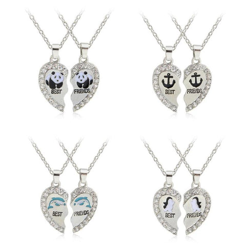 Best Friends Necklace Necklace Penguin Delivery