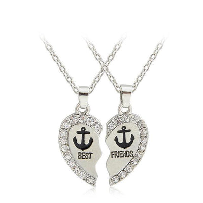 Best Friends Necklace Necklace Penguin Delivery Anchors