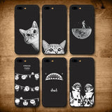 Black-Sky iPhone Case Phone Case Penguin Delivery