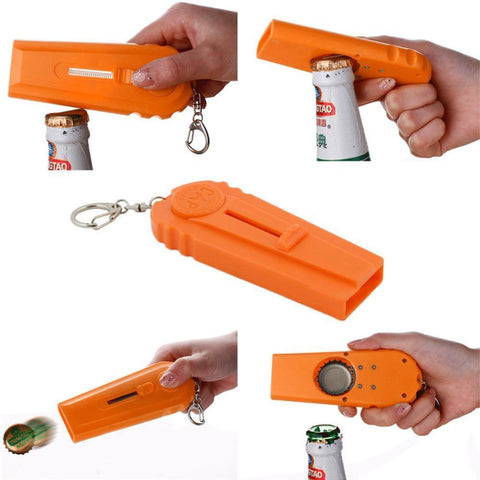 Bottle Opener and Launcher Penguin Delivery