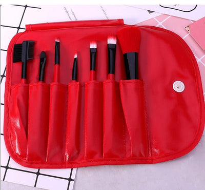Corry Professional Makeup Brushes Brushes Penguin Delivery Red