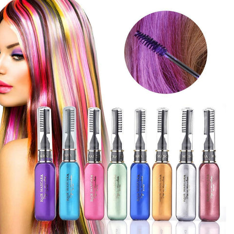 Easy Washable Hair Dye Pens (Set Of 8 Colors) Hair Color DearBeauty Store