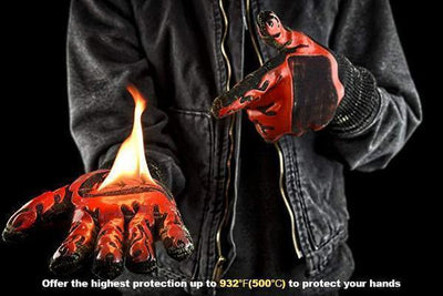 Extreme Heat Resistant Fireproof Gloves Penguin Delivery