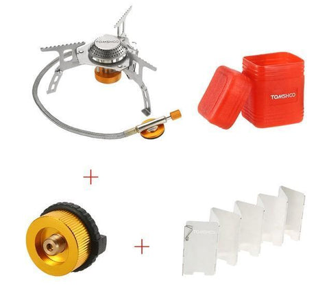 Foldable Gas Stove Outdoor Camping Penguin Delivery
