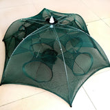 Foldable Umbrella Type Fish Trap Fishing Net HUDA Outdoor Equipment Store