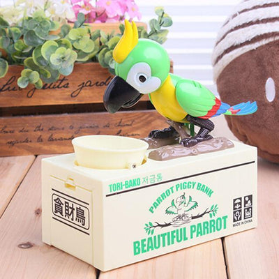 Greedy Dog Pet Bank Piggy Bank Penguin Delivery Green Parrot