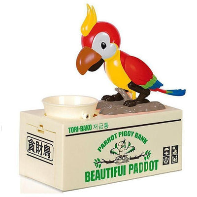 Greedy Dog Pet Bank Piggy Bank Penguin Delivery Red Parrot