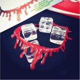 Halloween Decoration Horror Blood Drip Necklace Penguin Delivery