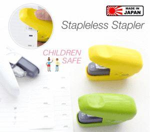 Japanese Stapleless Stapler Penguin Delivery