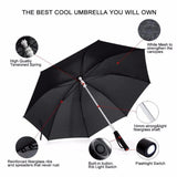 LED Light up Umbrella with Flash Light Penguin Delivery