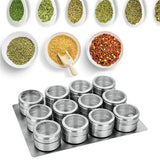 Magnetic Seasoning Can Other Herb & Spice Tools monokweepjy Tesco Life Store