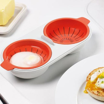 MICROWAVE PERFECT EGG POACHER Penguin Delivery