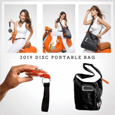 New Eco-friendly Disc Foldable Bag Penguin Delivery