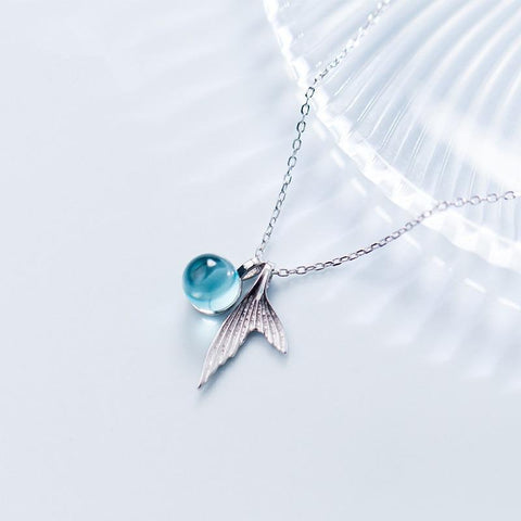 Ocean's Tear 925 Sterling Silver Pendant Pendant Penguin Delivery