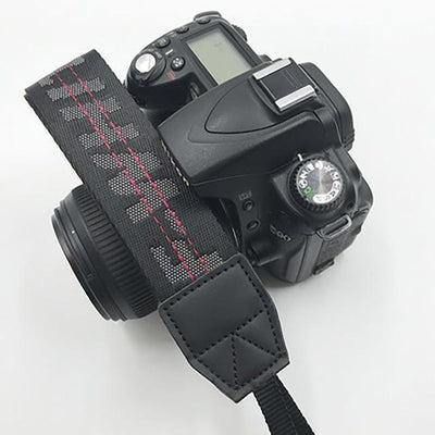 OFF-WHITE Camera Strap for Canon, Nikon, Sony, Leica, Olympus, Panasonic and more Camera Strap Octaim Offcial Store Black
