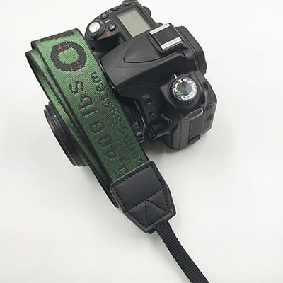 OFF-WHITE Camera Strap for Canon, Nikon, Sony, Leica, Olympus, Panasonic and more Camera Strap Octaim Offcial Store Deep Green