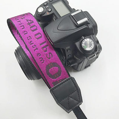 OFF-WHITE Camera Strap for Canon, Nikon, Sony, Leica, Olympus, Panasonic and more Camera Strap Octaim Offcial Store Deep Pink