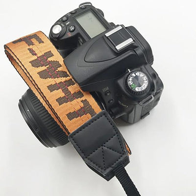 OFF-WHITE Camera Strap for Canon, Nikon, Sony, Leica, Olympus, Panasonic and more Camera Strap Octaim Offcial Store Orange