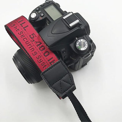 OFF-WHITE Camera Strap for Canon, Nikon, Sony, Leica, Olympus, Panasonic and more Camera Strap Octaim Offcial Store Red