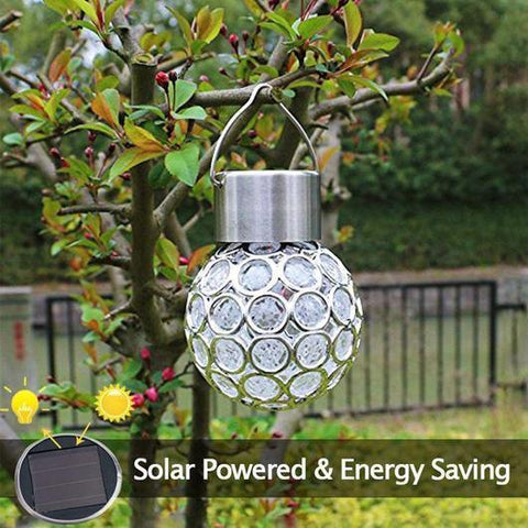 Party Light - Solar Powered Crystal Ball Penguin Delivery