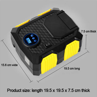 Portable Air Compressor For Car 150 PSI Mini Digital Tire Inflator Penguin Delivery