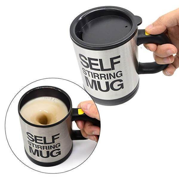 Self Stirring Mug Mug Penguin Delivery