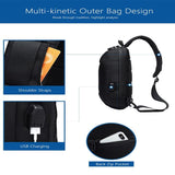 SLIM ANTI-THEFT CROSSBODY BAG FOR MEN Penguin Delivery