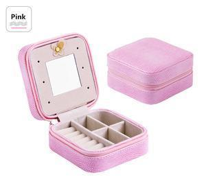 Travel Jewelry Box Penguin Delivery Pink