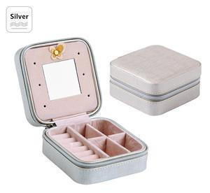 Travel Jewelry Box Penguin Delivery Silver
