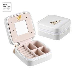 Travel Jewelry Box Penguin Delivery White