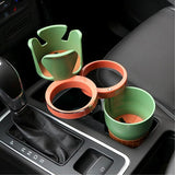 Universal Multifunctional Car Cup Bottle Holder Drinks Holders Lafee Auto Accesory Store