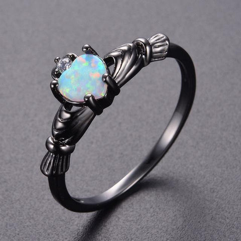Vintage Opal Ring Rings knock Official Store 5 E1